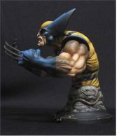 Wolverine Yellow costume by chrisgabrish