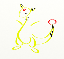 Oversimplified: Ampharos by The-End-Inc