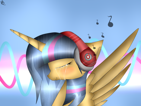 MLP Silver Sentry With Solo Beats by WingLightYT