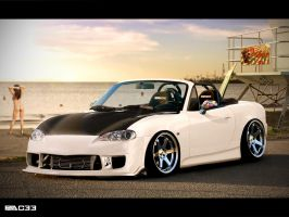 Mazda MX5 by pacee