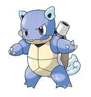 Wartortle - interrupted evo by icaro382
