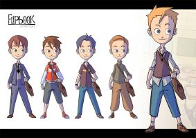 Flipbook Char1 Outfits by patrick-q