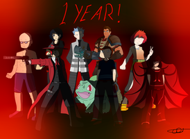 Heres to one whole year by CDThorne