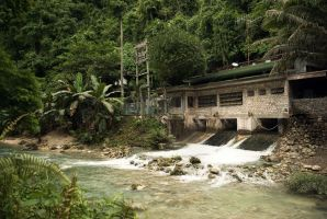 hydroelectric plant in Kawasan by Tohmy