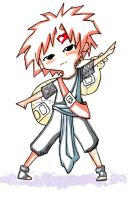 Gaara in WindyTails style by Toki-chinko