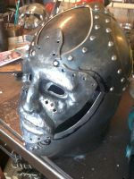 Early cen. Helm Progress by TimeTurbine