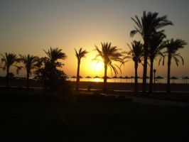Sunset in Egypt by Laura-in-china