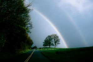 Dualing Rainbows by PhotoAlterations
