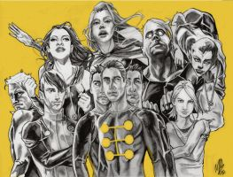 X-Factor, 2007 by michaelboarts