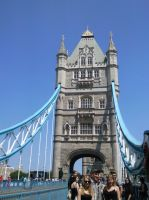 Tower of Tower Bridge... by furiousflamewolf