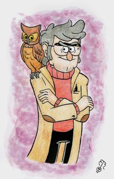 The Owl Man by Piddies0709
