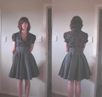 Shirt with Pinafore Dress by mhawke