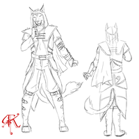 Khajit design - commission by Kuneria