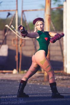 Cammy White Cosplay by kittylappincosplay