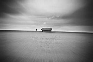 the shack black and white by thenata