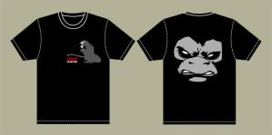 urban monkey tShirt by wi-flip-ff