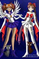 Super Sailor Optimus Prime and Sailor First Aid by JettwinsFan