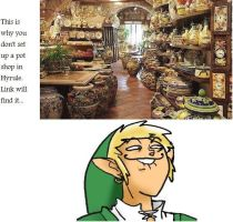Link's Habits by fourswordsfan247