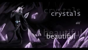 Crystals are beautiful by Silvergrin-W