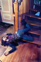 death by Stairs 3 by tearsintotime