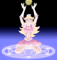 Sailor Peach Summon Magic by Rekameohs