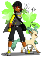 Pokemon Trainer: KC Sparks by KitsuGuardian