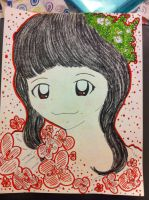 Floral Riho by kawaii-beam