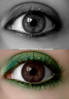 colorize-retouch eye by baboesch