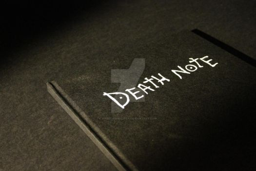 Death Note 4 by AndrewsProject