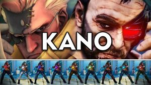 SFV Mod - Nash as Kano by Luchok