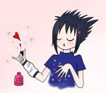 Sasuke - Nail Polish by CamillaBB