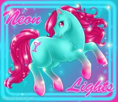 MLP - Neon Lights by uppuN