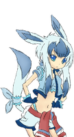 Glaceon girl by Souuleaater