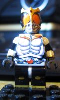 Kamen Rider Kuuga LEGO Custom Growing Form by Digger318