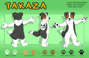 Takaza Model Sheet by mlaproductions