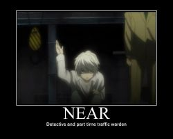 The traffic warden- Death Note by Clive4everLegal