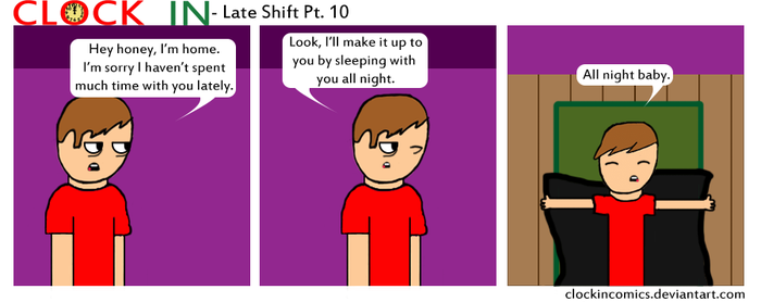 Late Shift Pt10 by clockincomics