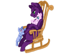 Mare in a chair base by Sarahostervig