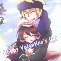 [ Pokemon ] Happy Valentine's Day by Foxmi