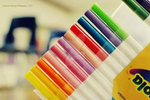 Colorful Markers by love-in-focus-Photo