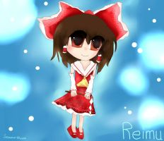 Gift: Reimu Hakurei by Seasonal-blossom