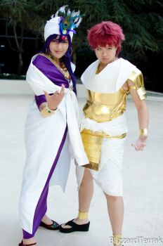 Sinbad and Masrur by EvilProdigyYIP