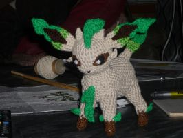 Leafeon by Swedish-Freak