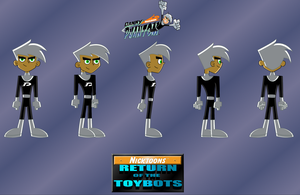 DANNY PHANTOM in my new comic by mayozilla