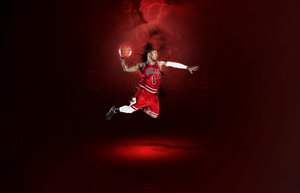 Derrick Rose by Matebarchuc