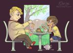 Tea with Pooh by 10yrsy