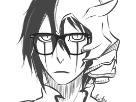 Hipster Ulquiorra by keitoz