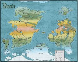 Idesia World Map by incomitatum