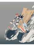 37 mn Speed painting -Drift King- by Gribouillonne