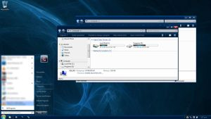 Nightrium Blue-Windows 7 Basic by Nitrium-Oxide